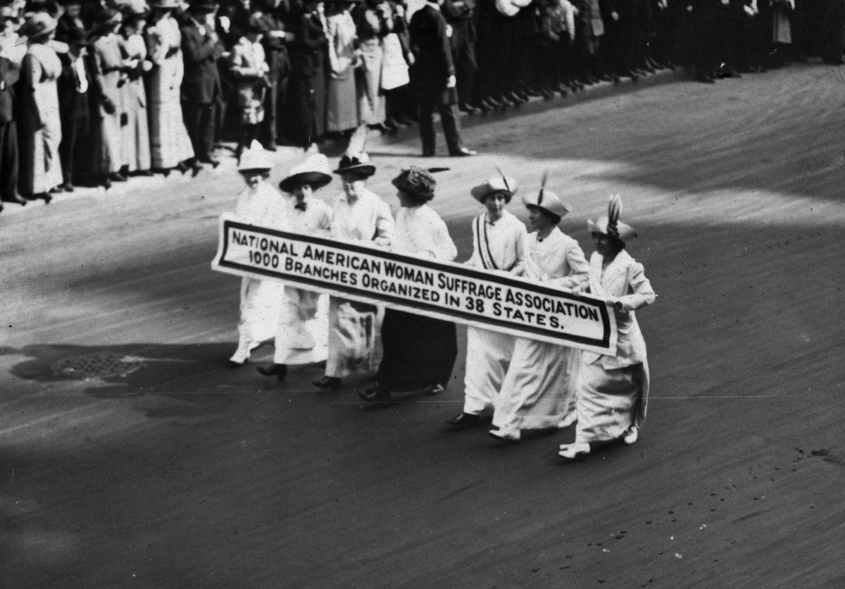 womens suffrage movement and labor movement