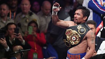 Vintage PacMan turns back the clock in title fight
