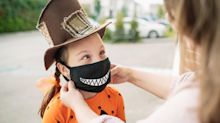 Kids' Face Masks That Do Double Duty For Halloween