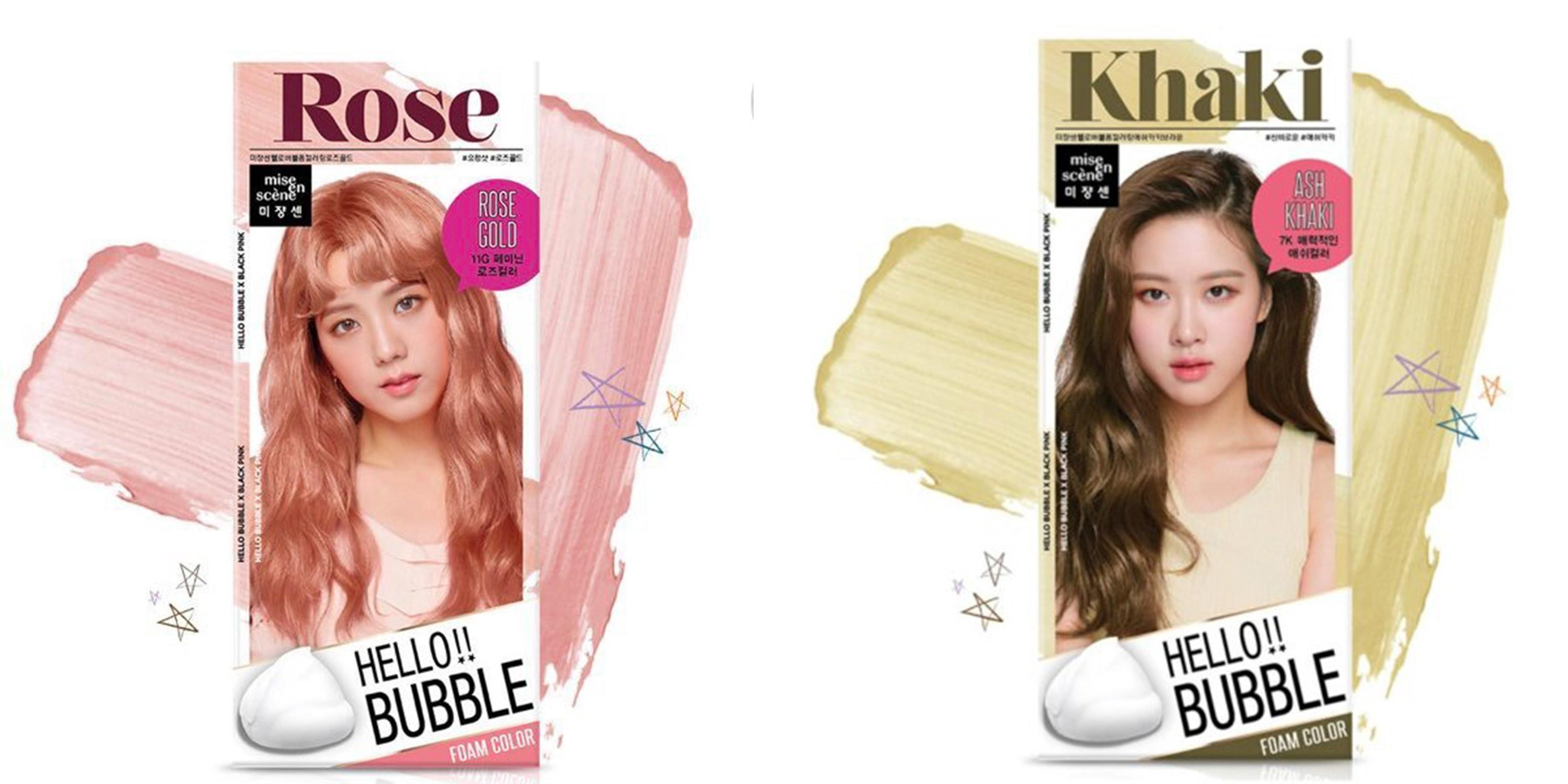 K Pop Group Blackpink Is About To Drop A Rose Gold Hair Dye