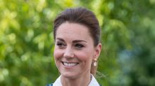 Kate Middleton tried out a new beachy hairstyle for her latest outing