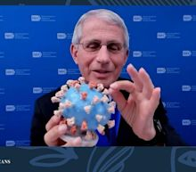Fauci donates personal 3D model of COVID-19 to Smithsonian as museum honors him with medal