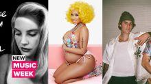 Justin Bieber looks back, Nicki Minaj gives birth & Lana Del comes back