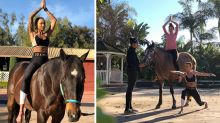 Horse yoga is the latest holiday wellness trend you can try