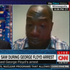 Man heard in George Floyd video says arresting officers 'wanted to kill that man'