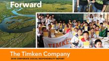 Timken Issues CSR Report, Demonstrating Commitment to Move the World Forward, for Good