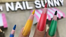 Nova proposta para nail art são as unhas de lápis de cor