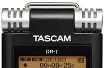 Tascam DR-1 digital recorder can slow things down without changing pitch