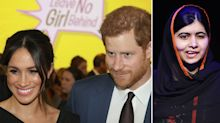 Harry and Meghan discuss how coronavirus impacts girls' education with Malala Yousafzai