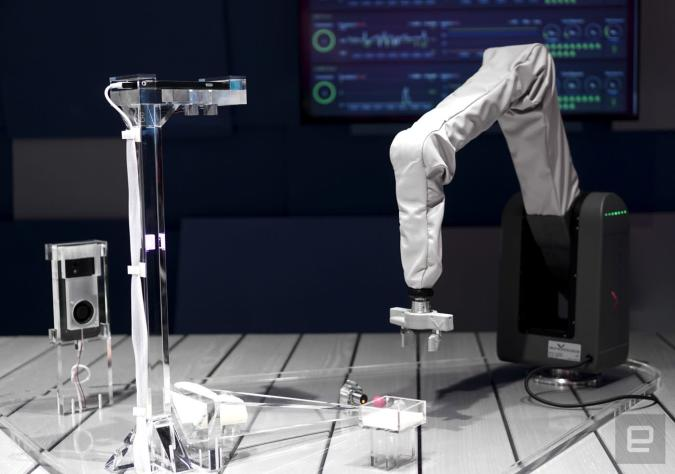Samsung zeigt mit Roboterarm, was 5G kann (,aber)