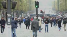 Paris trials 'car-free day' in historic centre of city