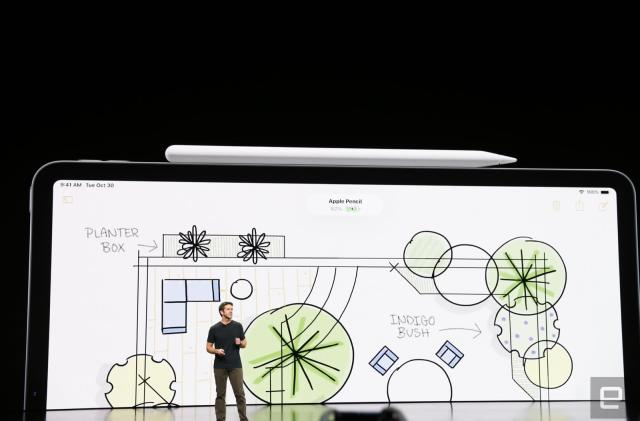 Apple's new Pencil charges wirelessly