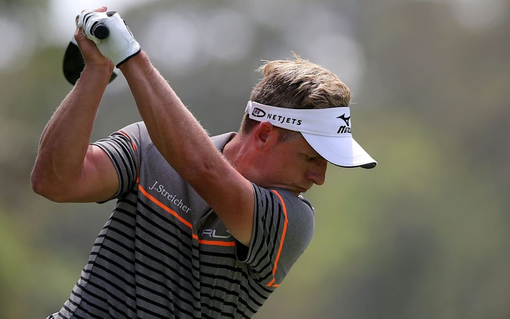 Luke Donald is four shots off the lead at Hilton Head - Getty Images North America