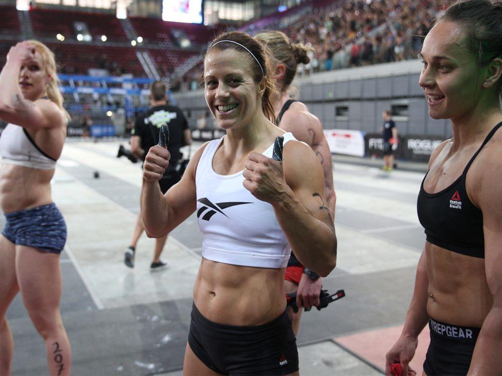 Platz 3 der Frauen: Früher Turnerin und Ausdauersportlerin, heute CrossFitterin: Kristin Holte betreibt den Extremsport seit 2012 und war seitdem bereits vier Mal bei den CrossFit Games angetreten. 2017 gibt sie sich für das Sport-Event optimistisch. (Bild-Copyright: Photo courtesy of CrossFit Inc.)
