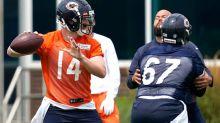 QB Dalton impresses Bears with prized rookie Fields lurking