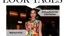 Look des Tages: Irina Shayk als lebendige Pop-Art-Beauty