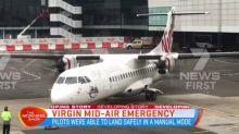 Virgin mid-air emergency