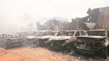 Chandigarh: Over 3 godowns, dozen vehicles destroyed in Makhan Majra fire