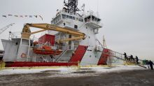 Davie warns of shipbuilding strategy 'disaster' as Coast Guard icebreaker delivered