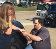 Police Dispatcher Asks Cops to Help Him Propose During Traffic Stop