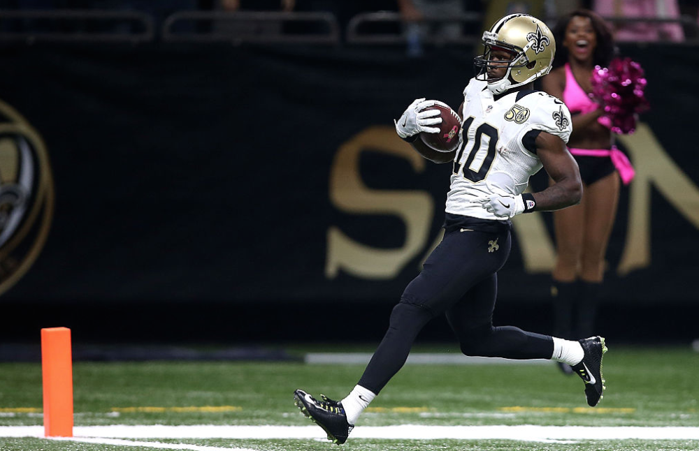 Brandin Cooks usually plays his best football at home (Getty)