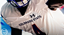 Colorado State's alternate uniforms incorporate the Colorado state flag