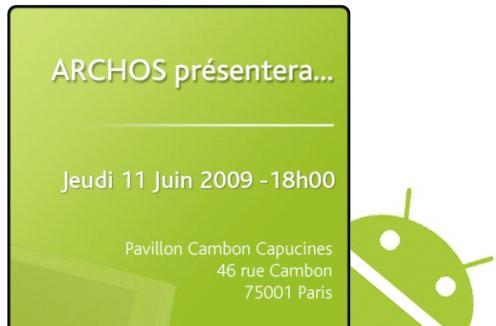 Archos event June 11th: 5-inch Android tablet with voice expected