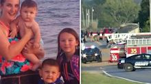 Mum and four children killed in horrific truck crash