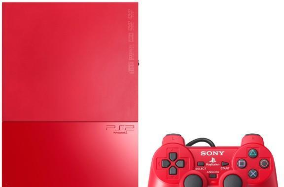 Sony intros red PS2 and metallic blue PSP for Japan