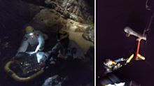Four-hour mission to rescue young woman seriously injured in cliff fall