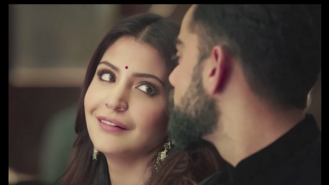 Virat & Anushka Are So Done With Us Gushing Over the Wedding Ad