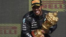 Hamilton roars back to win British GP after Verstappen crash