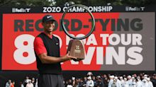 Tiger Woods equals all-time record with 82nd win