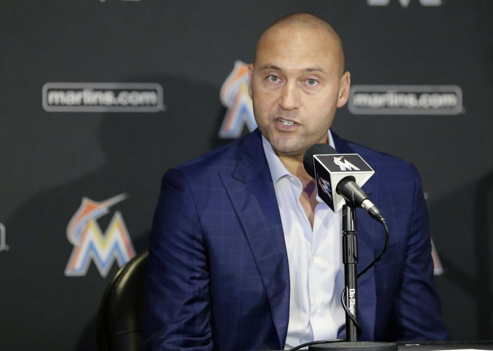 New Marlins owner Derek Jeter is recruiting front-office employees from the Yankees, including a new director of player development. (AP)