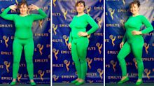 Writer invites public to Photoshop her fake Emmys outfit