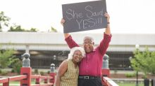 This Couple's Engagement Photos Will Make You Believe It's Never Too Late to Fall in Love