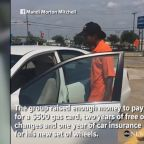 Strangers raise $5,500 in 30 hours to get car for man walking 3 miles to work daily