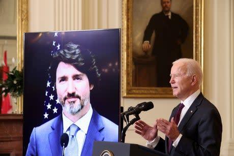 Biden news - live: AOC blasts president's migrant camp as Romney predicts Trump 2024 nomination 'landslide'
