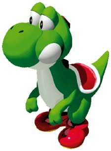 Yoshi's Island ad, now with more tongue