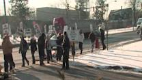 RAW: Strongsville picketers chanting