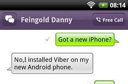 Viber VoIP app hits Android, serves up cross-platform 3G voice and text (video)