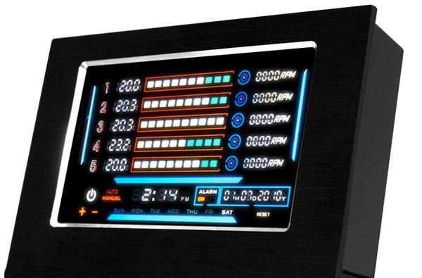 NZXT's Sentry LXE touchscreen fan controller turns you into Storm, minus the cheese