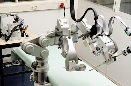 Sofie surgical robot gives haptic feedback for a more humane touch
