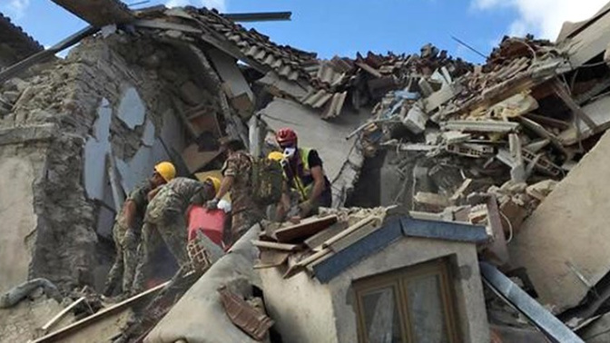Girl, 10, rescued 17 hours after quake hit