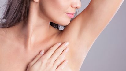 This cream can help fade dark underarm patches