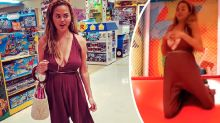 Chrissy Teigen claps back after being criticised for going braless