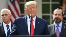 Government coronavirus response: Trump declares national emergency, says he 'likely' will get tested