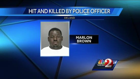 Police cruiser runs over, kills fleeing man near DeLand