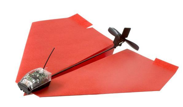 Paper airplanes finally get the smartphone remote control they deserve