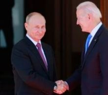 Putin surprisingly arrives on time for meeting with Biden
